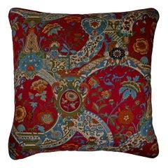 'Vintage Cushions' Luxury Bespoke Midcentury Pillow 'Regency', Made in London