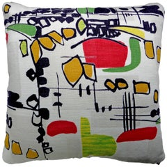 'Vintage Cushions' Luxury Bespoke Midcentury Pillow 'Rina', Made in London