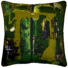 'Vintage Cushions' Luxury Bespoke Midcentury Pillow 'Rhapsody' Made in London