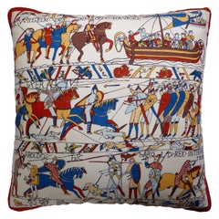 Vintage Cushions Luxury Bespoke Pillow 'Magnificent Mouchoirs', Made in London