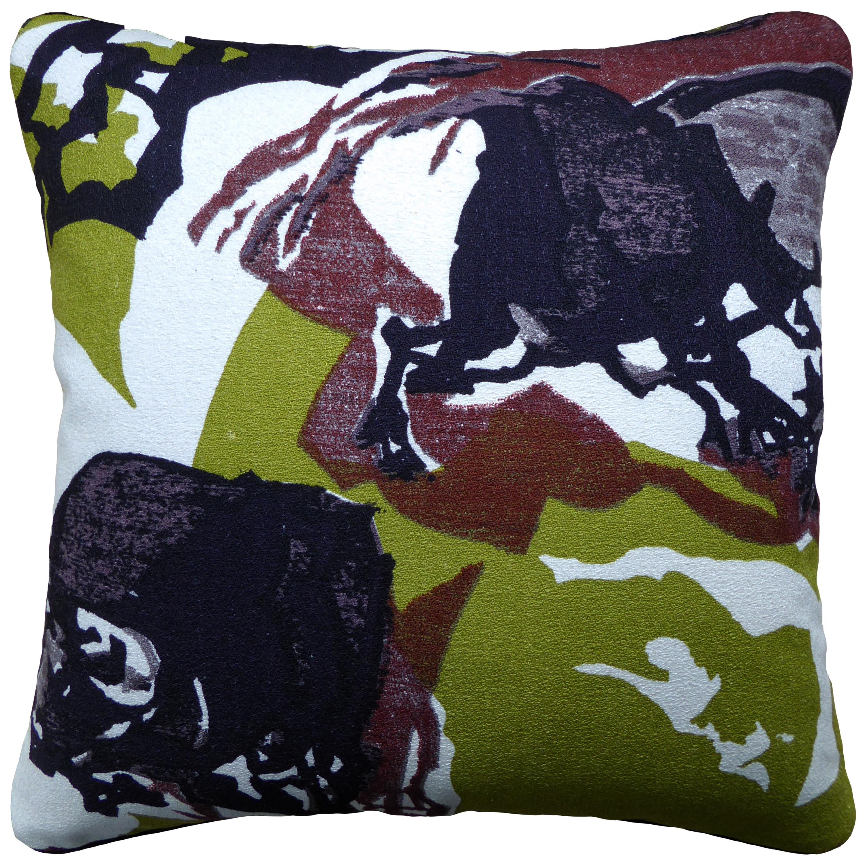 'Vintage Cushions' Luxury Bespoke Pillow 'Midcentury' Made in London