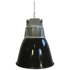 Vintage Czech Industrial Hall Lamp from Elektrosvit, 1970s