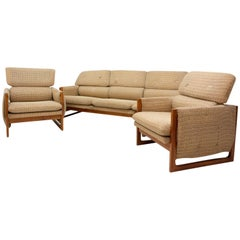 Vintage Czechoslovak Seating Group, 1980s