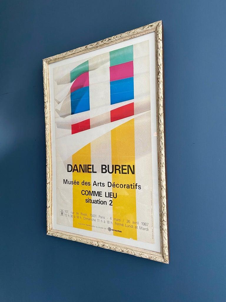 French Vintage Daniel Buren