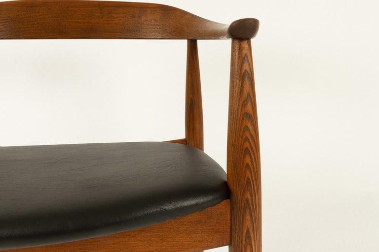 Vintage Danish Armchair by Illum Wikkelsø, 1950s For Sale 7