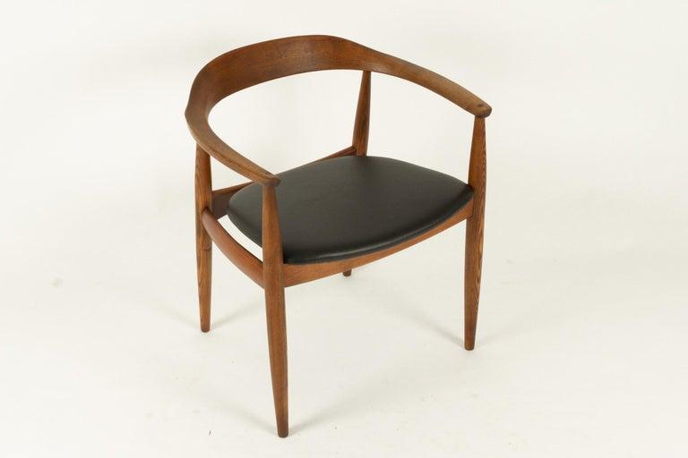 Vintage Danish Armchair by Illum Wikkelsø, 1950s For Sale 13