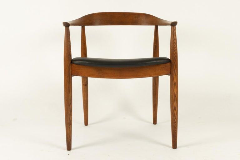 Mid-Century Modern Vintage Danish Armchair by Illum Wikkelsø, 1950s For Sale