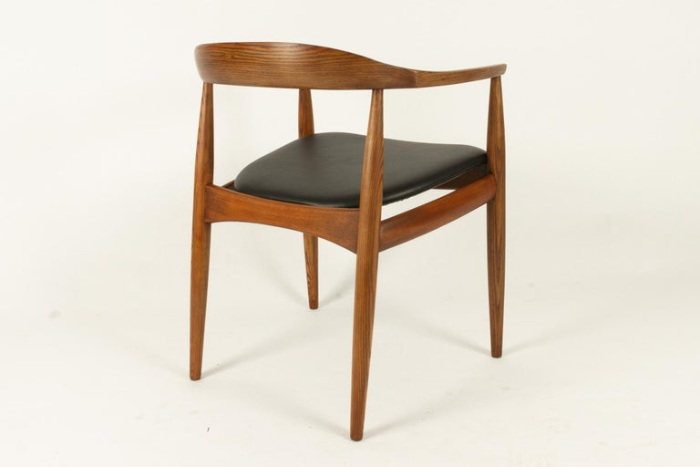 Mid-20th Century Vintage Danish Armchair by Illum Wikkelsø, 1950s For Sale