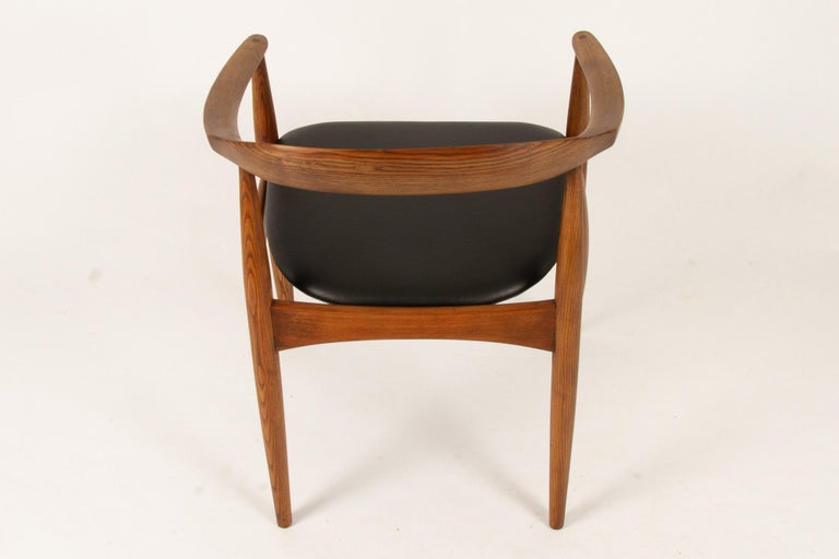 Vintage Danish Armchair by Illum Wikkelsø, 1950s For Sale 1