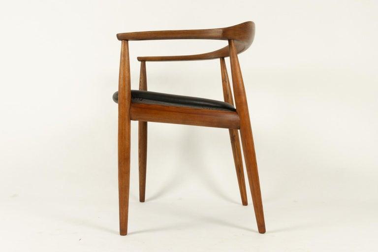 Vintage Danish Armchair by Illum Wikkelsø, 1950s For Sale 3