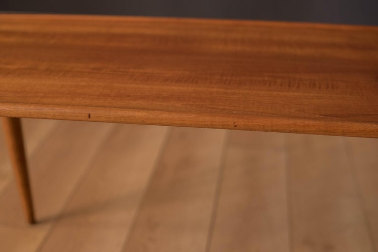 Vintage Danish AT-11 Solid Teak Coffee Table by Hans J. Wegner For Sale 1