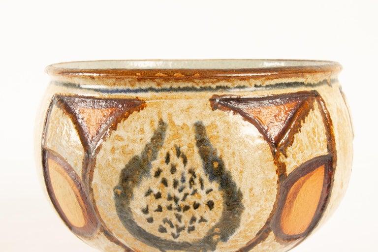 Vintage Danish Ceramic by Søholm 1960s Set of 5 For Sale 6
