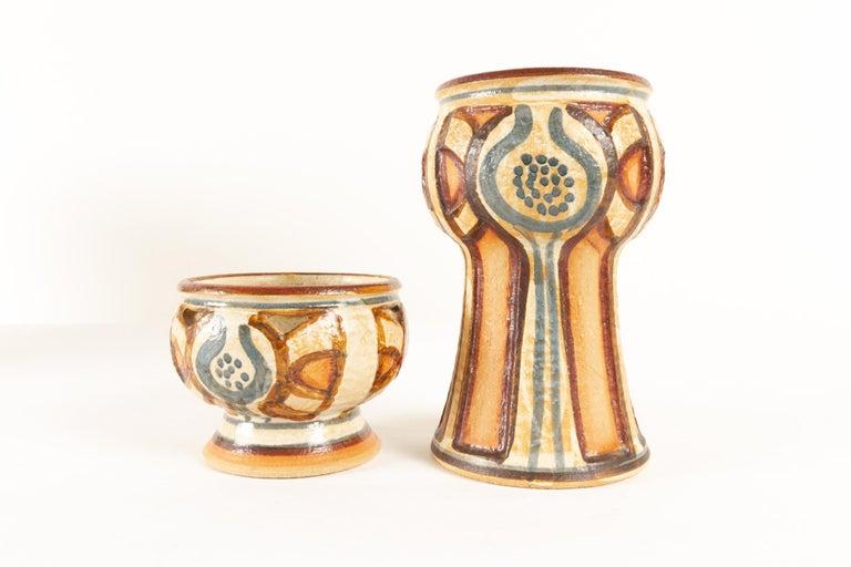 Vintage Danish Ceramic by Søholm 1960s Set of 5 For Sale 10