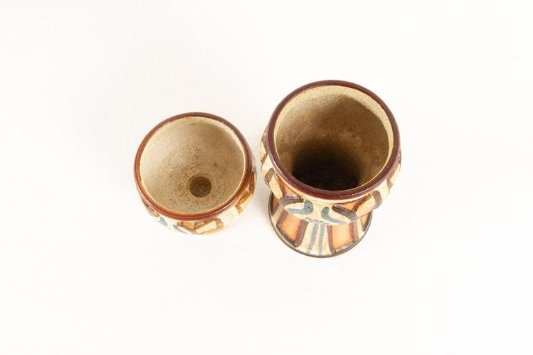 Vintage Danish Ceramic by Søholm 1960s Set of 5 For Sale 11