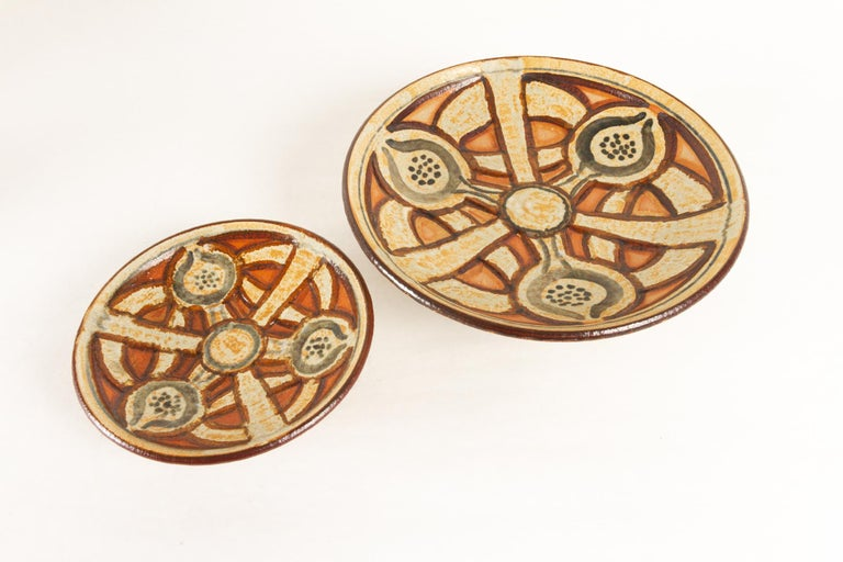 Vintage Danish Ceramic by Søholm 1960s Set of 5 In Good Condition For Sale In Nibe, Nordjylland