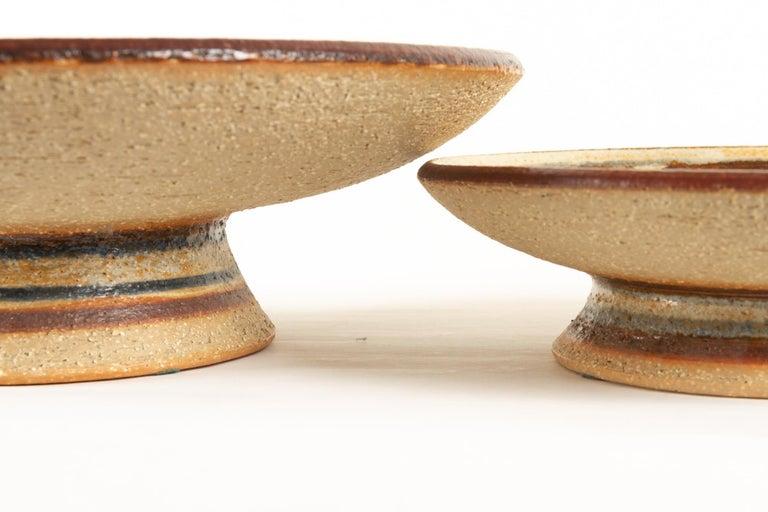 Vintage Danish Ceramic by Søholm 1960s Set of 5 For Sale 1