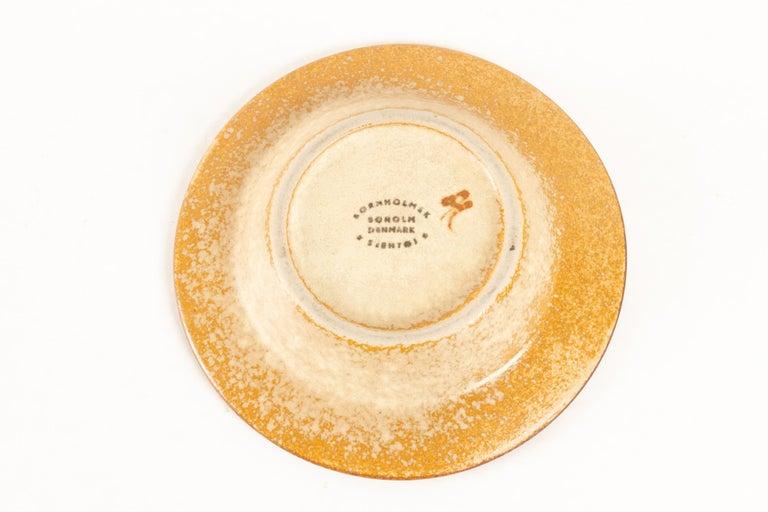 Vintage Danish Ceramic Dishes by Søholm 1960s, Set of 2 For Sale 2
