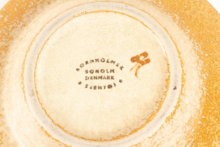 Vintage Danish Ceramic Dishes by Søholm 1960s, Set of 2 For Sale 3