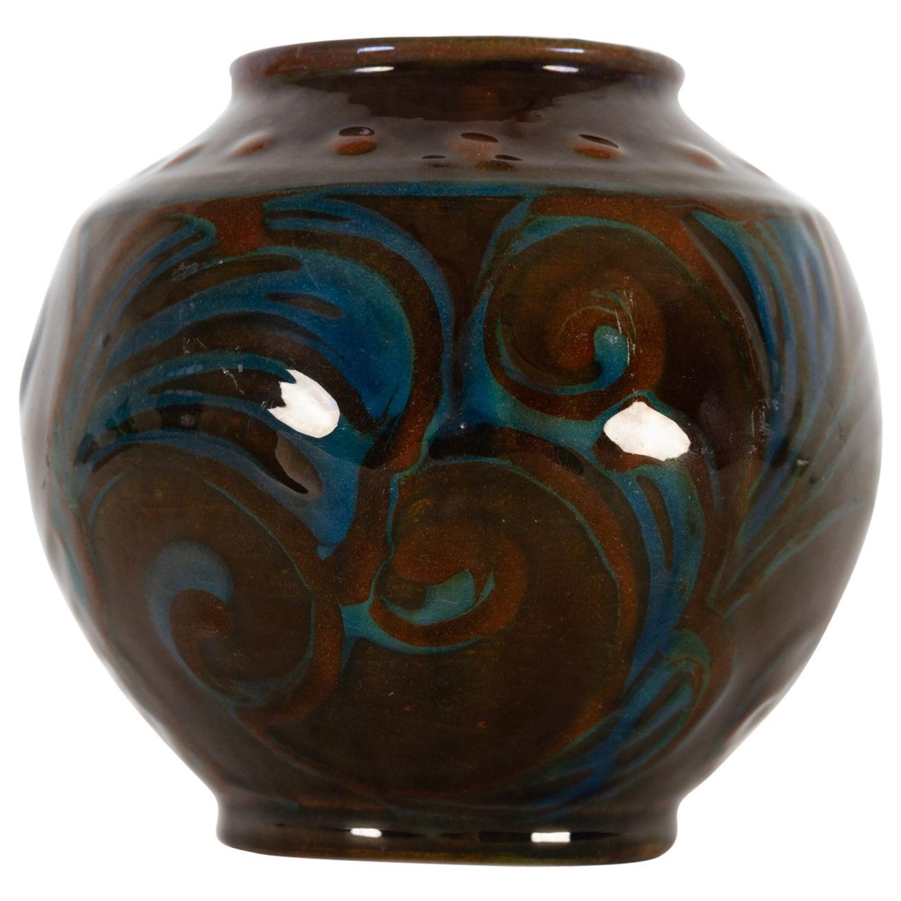 Vintage Danish Ceramic Vase by Herman A. Kähler, 1930s