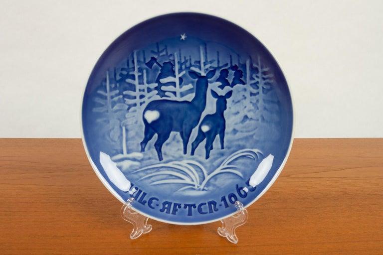 Porcelain Vintage Danish Christmas Plates, Set of 23 For Sale