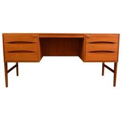 Vintage Danish design Chr. Møller teak desk