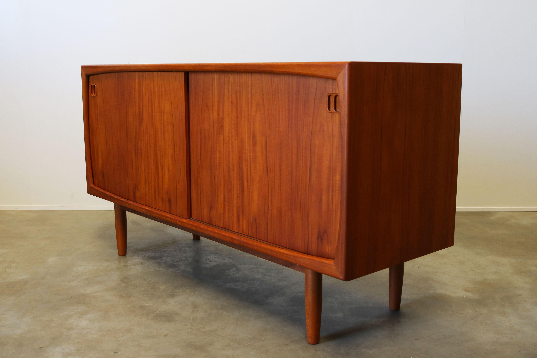 Vintage Danish Credenza : Vintage danish design sideboard credenza by dyrlund s teak