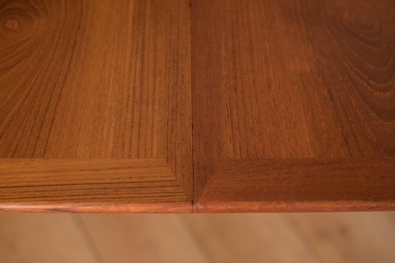 Vintage Danish Extendable Teak Dining Table by Grete Jalk For Sale 4