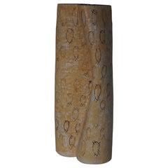 Vintage Danish Floor Ceramic Floor Vase by Ole Victor, 1993