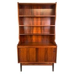 Vintage Danish Mid-Century Modern Rosewood Bookcase by Johannes Sorth