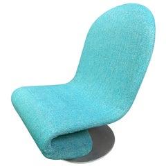 "Vintage Danish Mid-Century Modern ""System 1-2-3"" Lounge Chair by Verner Panton"