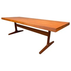 Vintage Danish Mid-Century Modern Teak Coffee Table