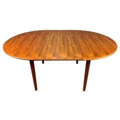 Vintage Danish Mid-Century Modern Teak Dining Table