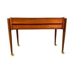 Vintage Danish Mid-Century Modern Teak End Table, Nightstand