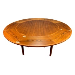 "Vintage Danish Mid-Century Modern Teak ""Lotus"" Dining Table by Dyrlund"