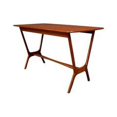Vintage Danish Mid-Century Modern Teak Side Table