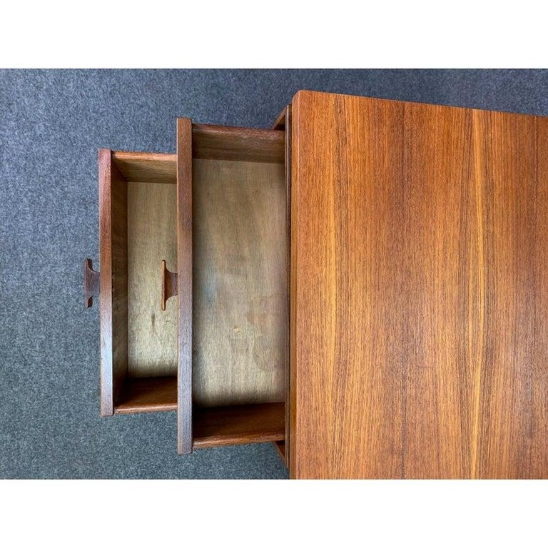 Vintage Danish Mid-Century Modern Teak Vanity Desk by Kofod Larsen for G Plan For Sale 2