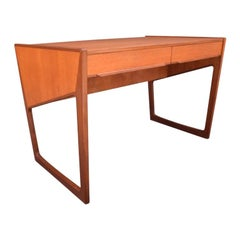 Vintage Danish Mid-Century Modern Teak Writing Desk