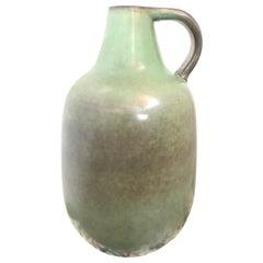 Vintage Danish Midcentury Knabstrup Floor Vase