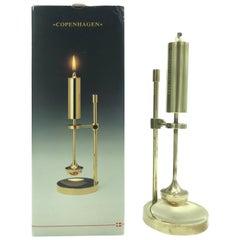 Vintage Danish Midcentury Oil Lamp by Ilse Ammonsen for Daproma Design
