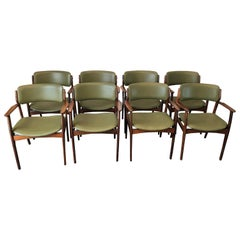 Vintage Danish Modern Rosewood Armchairs by Erik Buch for O.D. Mobler