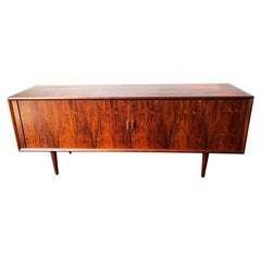 Vintage Danish Modern Rosewood Credenza by Svend Aage Larsen, circa 1960s