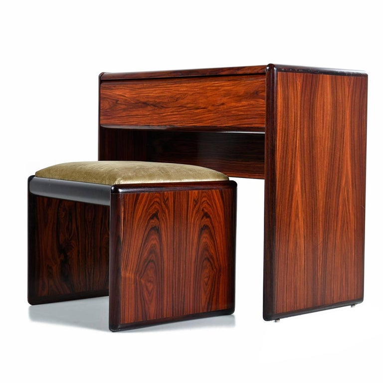 Rich Dark Red Rosewood Inside And Out Finished On All Sides The Fiery