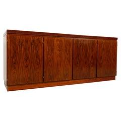 Vintage Danish Modern Rosewood Sideboard by Skovby, 1970s