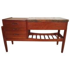 Vintage Danish Modern Side Table