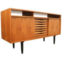 Vintage Danish Modern Teak Sideboard, 1960s