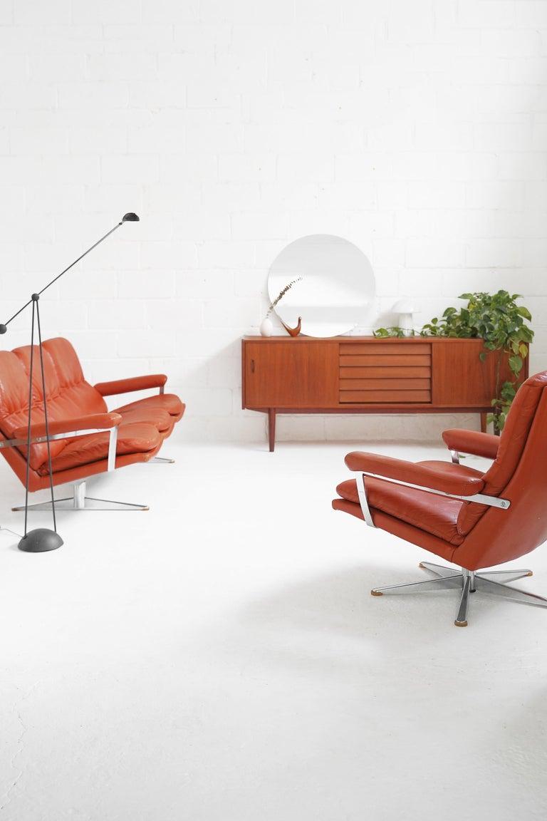 Vintage Danish Palma Sofa by Werner Langenfeld for ESA For Sale 13