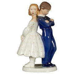 Vintage Danish Porcelain Figurine by Claire Weiss for Bing & Grøndahl, 1970s