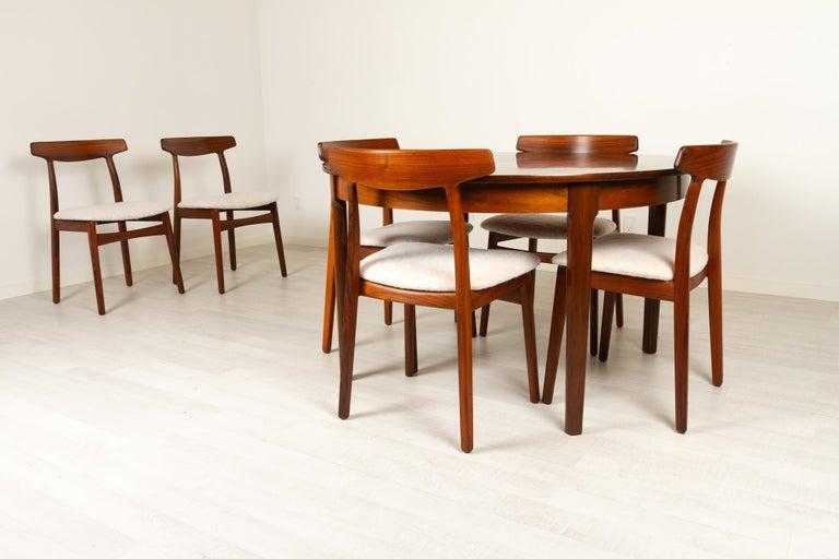 Vintage Danish Rosewood Dining Room Set, 1960s 15