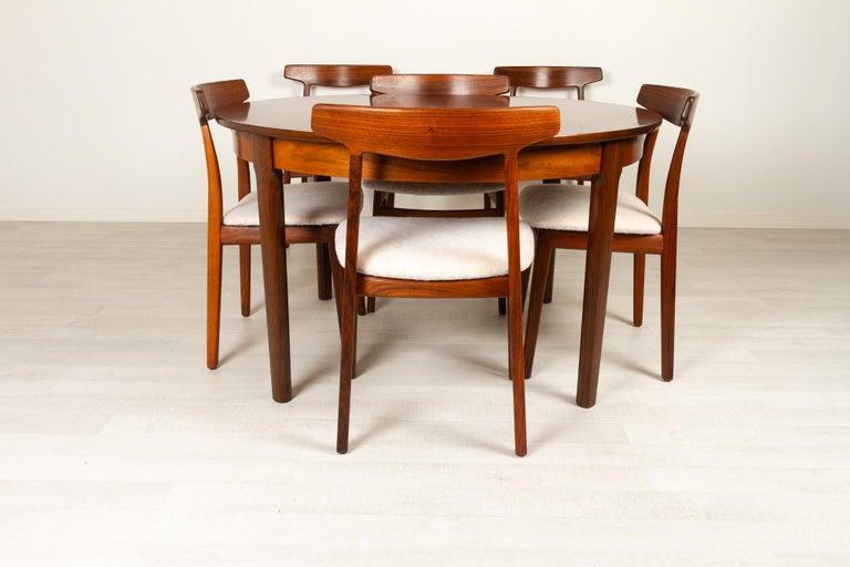 Vintage Danish Rosewood Dining Room Set, 1960s 2