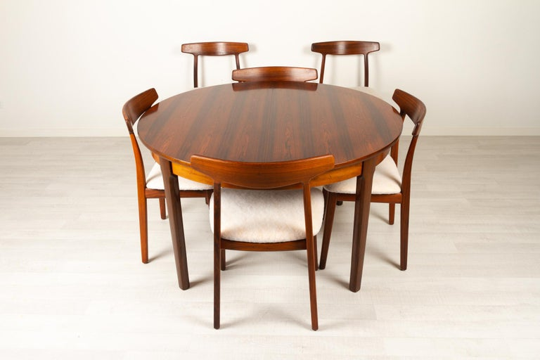 Vintage Danish Rosewood Dining Room Set, 1960s 3